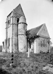 Ancienne église de Noël-Saint-Martin - Ensemble sud-est