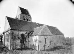 Ancienne église de Noël-Saint-Martin - Ensemble nord-est