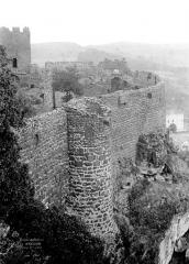 Ruines du château fort - Enceinte extérieure