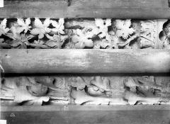 Basilique Saint-Denis - Colonnes piédroit droite