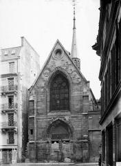 Ancien collège de Beauvais, actuelle église orthodoxe roumaine - Chapelle, ensemble ouest