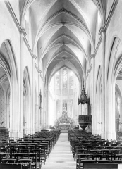 Eglise Saint-Antoine - Nef, choeur