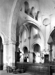 Eglise Saint-Martin - Intérieur : coupole et nef