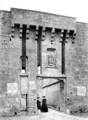 Portes de la ville - Vers Semur, exterieur