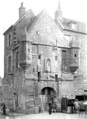 Bâtiment dit la Lieutenance - Détail