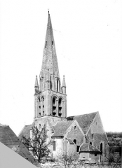 Eglise Saint-Aubin - Clocher