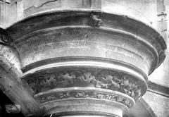 Ancien hôtel de Cluny et Palais des Thermes, actuellement Musée National du Moyen-Age - Encorbellement, chapelle