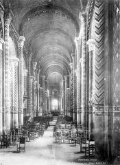 Eglise Notre-Dame-la-Grande - Nef, choeur