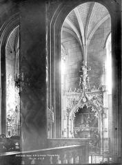 Eglise Notre-Dame-la-Grande - Transept sud, chapelle