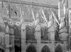 Cathédrale Saint-Etienne - Façade nord de la nef