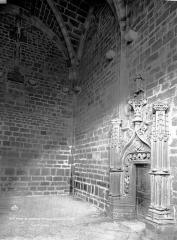 Eglise Saint-Saturnin - Chapelle de l'abbé, intérieur