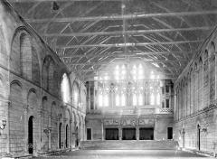 Ancien Palais des Comtes de Poitiers - Salle des Pas-Perdus, intérieur