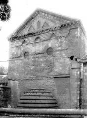 Baptistère Saint-Jean - Vue nord