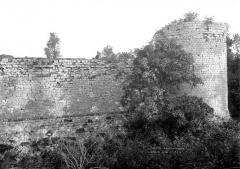 Remparts de la Ville Haute - Vue nord