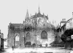 Ancienne cathédrale Saint-Paul-Aurélien - Abside ancienne