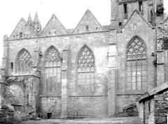 Eglise Notre-Dame du Creisker ou Kreisker - Nef, sud extérieur