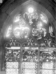 Eglise Saint-Nizier - Vitraux, fenêtre A