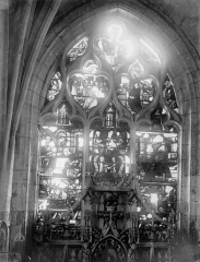 Eglise Saint-Nizier - Vitraux, fenêtre D