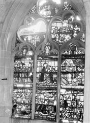 Eglise Saint-Nizier - Vitraux, fenêtre E