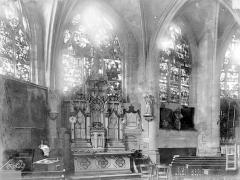 Eglise Saint-Nizier - Vitraux, fenêtre F