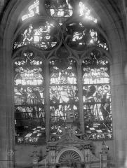 Eglise Saint-Nizier - Vitraux, fenêtre H