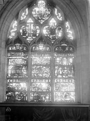 Eglise Saint-Nizier - Vitraux, fenêtre I