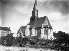 Eglise Saint-Aubin - Ensemble sud-est