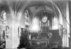Eglise Saint-Aubin - Intérieur