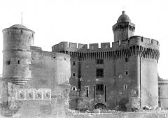 Castillet, Grand-Castillet, porte Notre-Dame ou Petit-Castillet - Bastion de Charles Quint, intérieur