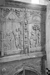 Eglise de l'Assomption de la Vierge - Jubé : bas-relief