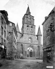 Eglise Saint-Junien - Façade ouest