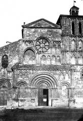 Eglise Sainte-Croix - Façade ouest
