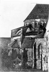 Eglise - Chevet, côté nord