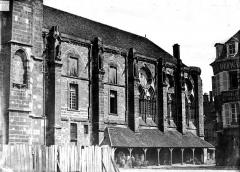 Salle synodale - Façade latérale