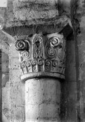Ancien prieuré de Saint-Nicolas de Courson dans la forêt de Compiègne - Chapiteau