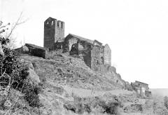 Abbaye de Serrabona - Vue d'ensemble