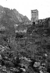 Abbaye de Saint-Martin du Canigou - Vue d'ensemble
