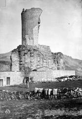 Ruines du Trophée d'Auguste, actuellement Musée du Trophée d'Auguste - Vue d'ensemble