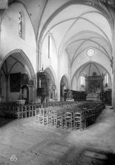 Eglise Notre-Dame-du-Bon-Voyage - Vue intérieure de la nef, vers le nord-est
