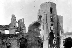 Ruines du château dit de Terride - Vue d'ensemble