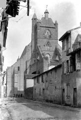 Eglise Notre-Dame - Clocher, côté ouest