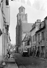 Eglise Notre-Dame - Clocher, côté sud