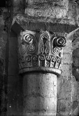 Ancienne abbaye Notre-Dame - Eglise : Chapiteau