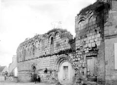 Ruines de l'ancienne maladrerie Sainte-Catherine - Façade sur rue