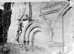 Ancienne chartreuse du Liget - Arcature aveugle ou portail muré