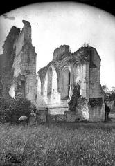 Ancienne chartreuse du Liget - Ruine de la nef