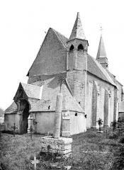 Eglise Saint-Cloud - Ensemble sud-ouest