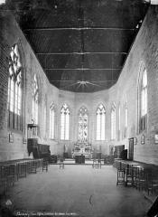 Eglise Saint-Paxent - Vue intérieure du choeur