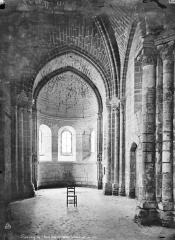 Chapelle Saint-Loup - Vue intérieure du choeur