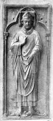Cathédrale Notre-Dame - Statue funéraire de Geoffroy d'Eu